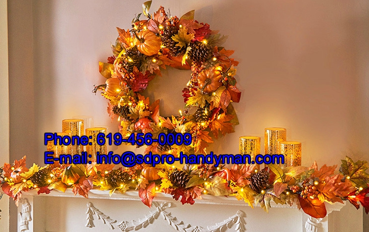 Ideas for easy thanksgiving decorating san diego pro